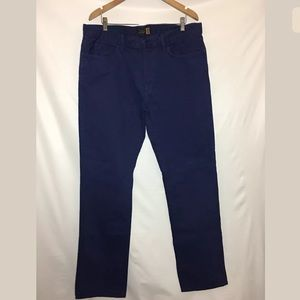 J.Crew Slim Straight Jean 100% Cotton Blue 36 x 34